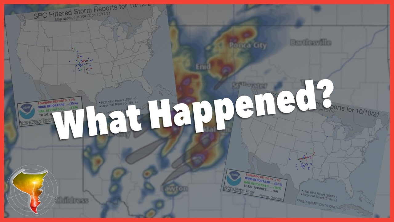 What happened? How Two Severe WX Setups Underperformed Expectations